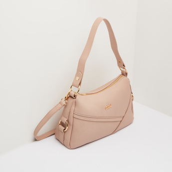 Celeste Shoulder Bag with Zip Closure