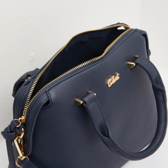 Celeste Crossbody Bag with Zip Tag Detail