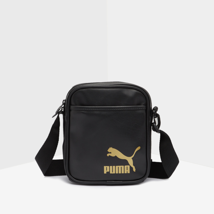 PUMA Printed Crossbody Bag with Adjustable Strap
