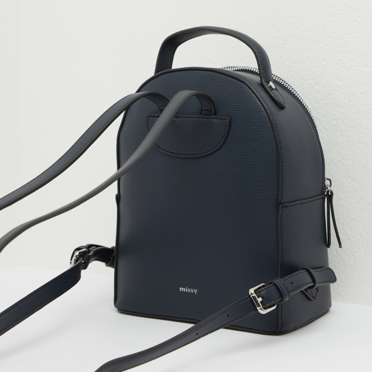 Missy Backpack with Adjustable Shoulder Straps and Pouch
