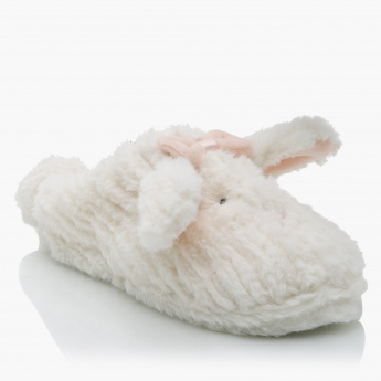 Little Missy Plush Bedroom Slippers