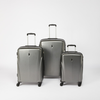 Duchini Hard Case Trolley Bag with Zip Closure