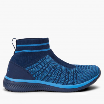 Kappa Textured Slip-On High Top Shoes
