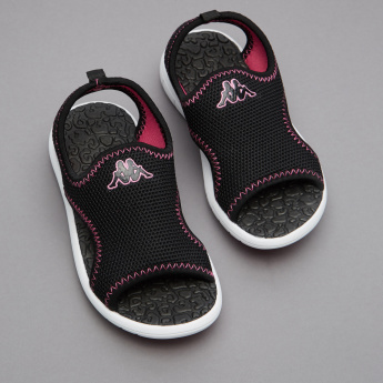 Kappa Textured Sling Back Floaters