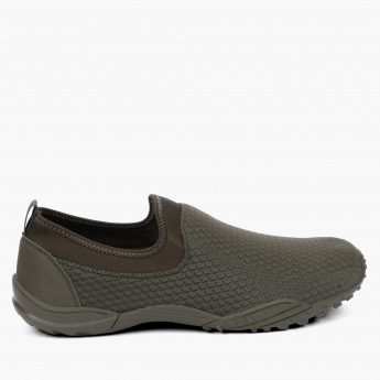 Dash Textured Slip-On Walking Shoes