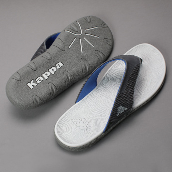 Kappa Textured Thong Slippers