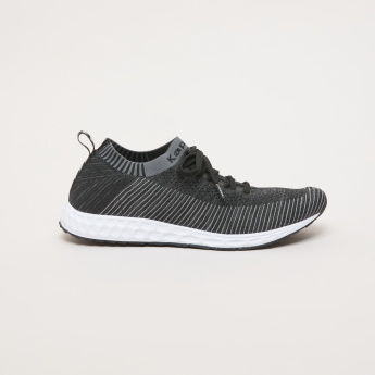 Kappa Men's Mesh Walking Shoes with Lace Closure
