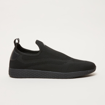 Kappa Men's Textured Slip On Walking  Shoes
