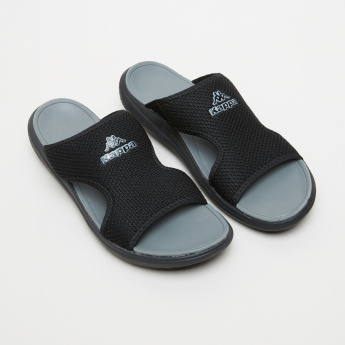 Kappa Textured Slides with Cutout Detail