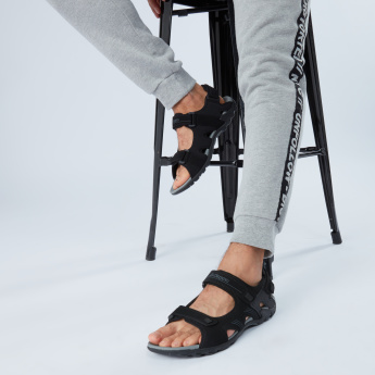 Kappa Sandals with Hook and Loop Closure