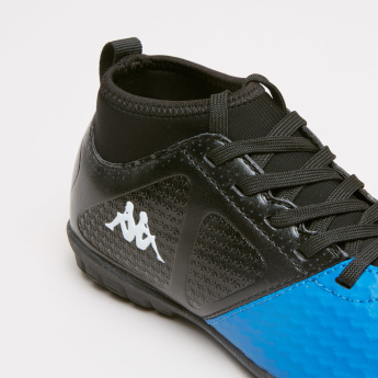 Kappa Textured Lace-Up Football Shoes