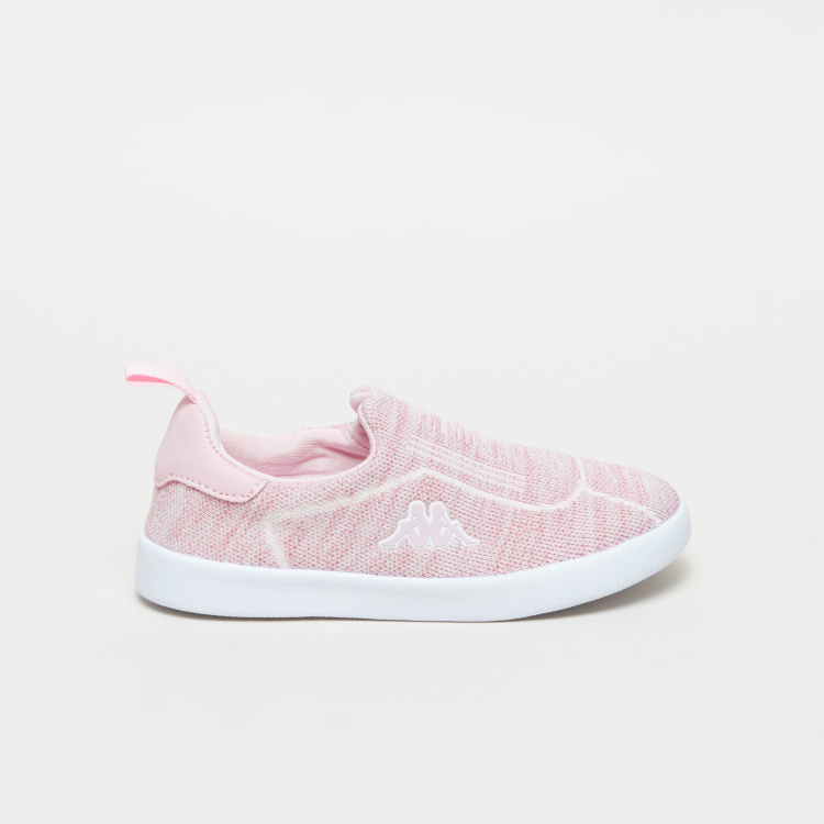 Kappa Knitted Slip-On Sneakers