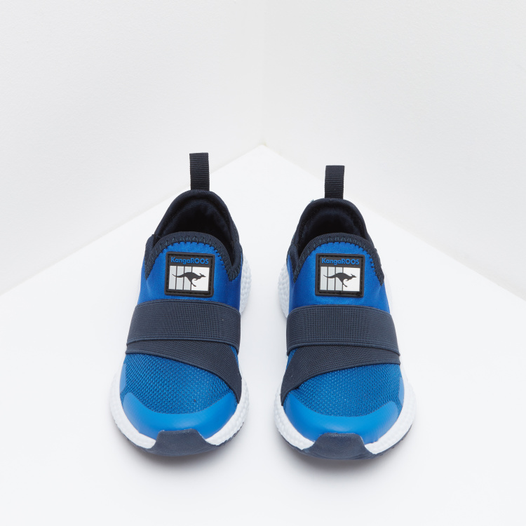 KangaROOS Slip-On Sneakers with Logo Detail
