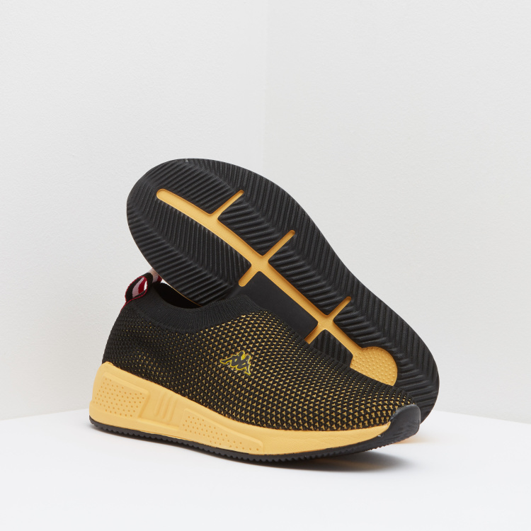 Kappa Boys' Slip On Walking Shoes with Pull Tab