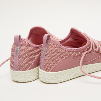 Kappa Women's Textured Walking Shoes