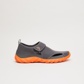 Kappa Floater Style Shoes with Hook and Loop Closure