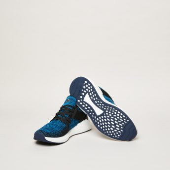 Kappa Men's Textured Lace Up Walking Shoes