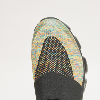 Kappa Slip-On Walking Shoes with Elasticised Straps