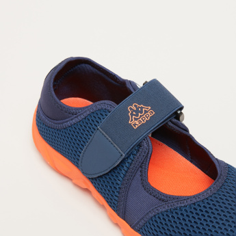 Kappa Mesh Shoes with Hook and Loop Closure