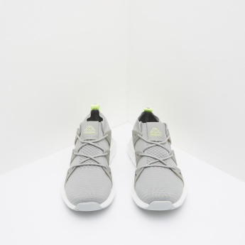 Kappa Low-Top Textured Lace-Up Sneakers