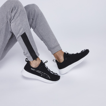PUMA Lace Detail Sneakers with Logo Tape