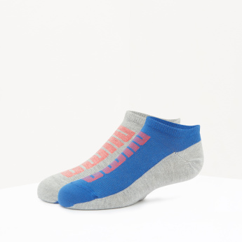 PUMA Printed Ankle Length Socks - Set of 2