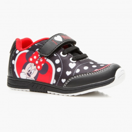 Minnie Mouse Velcro Sneakers