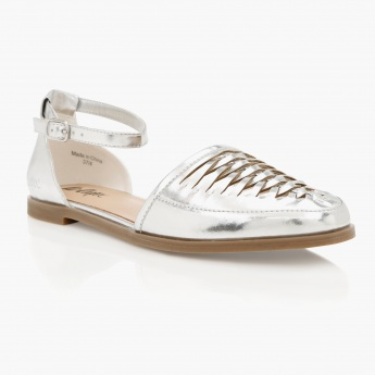 Lee Cooper D'Orsay Flat Shoes