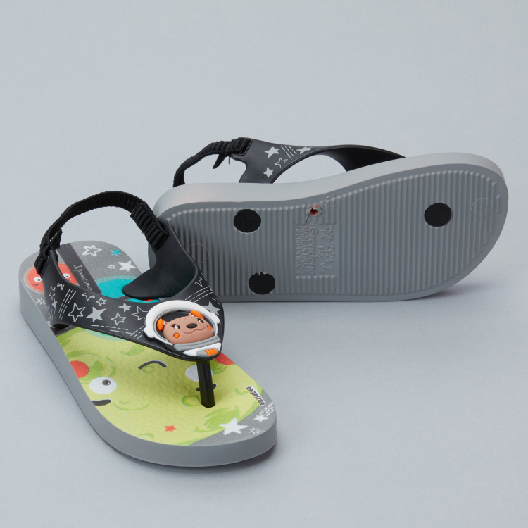 Ipanema Printed Sandals with Elasticised Backstrap