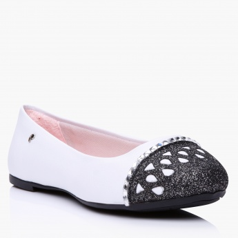 Pampili Embellished Ballerina Shoes