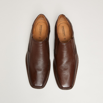 Textured Formal Loafers