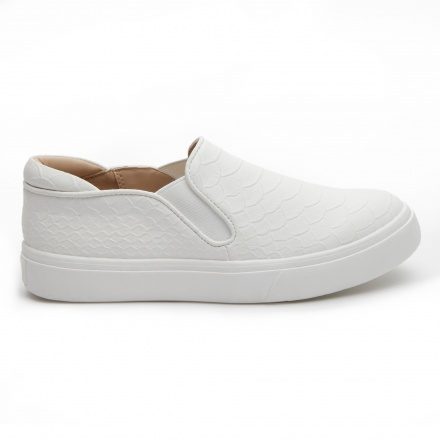 Lee Cooper Textured Slip-on Shoes