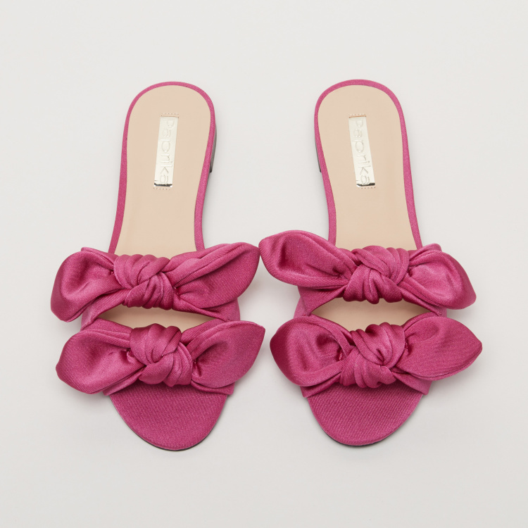 Paprika Bow Detail Slides