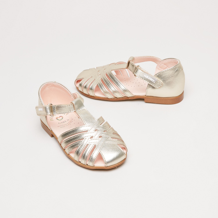 Pablosky Cross Strap Sandals