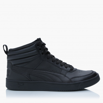 Puma Lace-Up High Top Shoes
