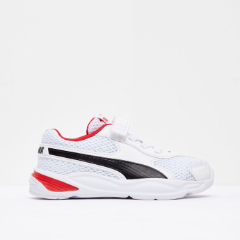 PUMA Boys' Running Shoes with Hook and Loop Closure
