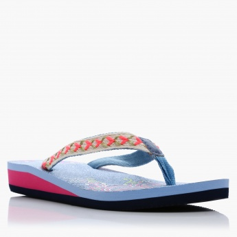 Missy Textured Thong Slippers