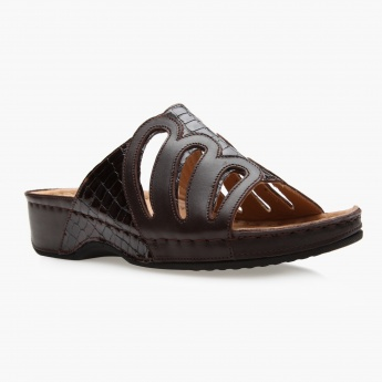 Cozy Comfort Slip-On Sandals