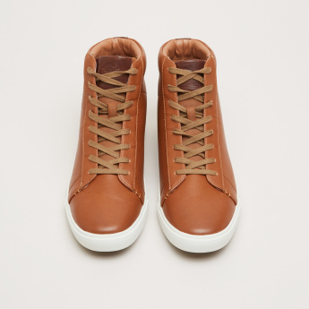 Lee Cooper High Top Shoes with Lace-Up Closure