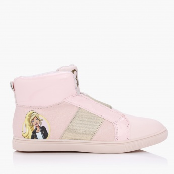 Barbie Print High-Top Shoes