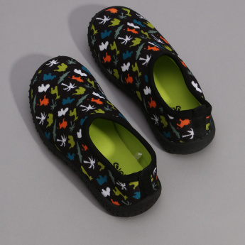Juniors Printed Slip-On Shoes