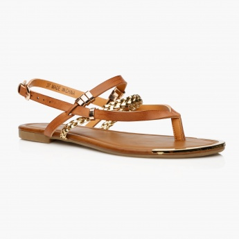 Missy Strap Sandals with Buckle