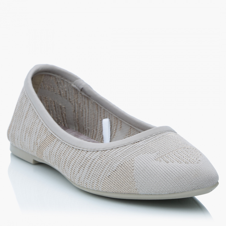 Skechers Women's Slip On Shoes with Woven Detail
