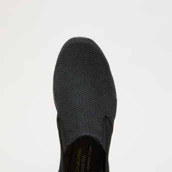 Skechers Men's Textured Mesh Shoes with Gussets