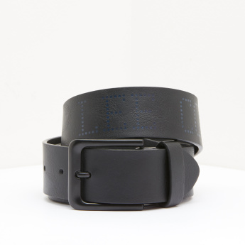 Lee Cooper Printed Belt with Pin Buckle