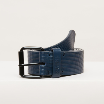 Lee Cooper Textured Casual Belt with Pin Buckle