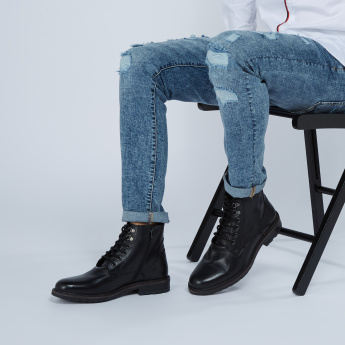 Lee Cooper High Top Boots