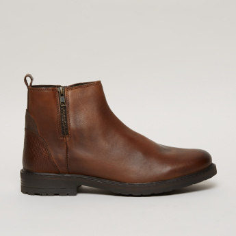 Lee Cooper Boots with Zip Closure