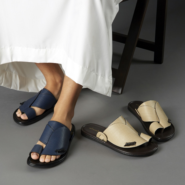 Al Waha Textured Arabic Sandals