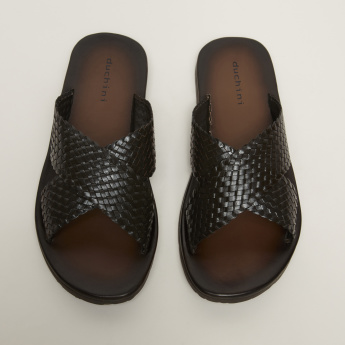 Duchini Textured Arabic Sandals